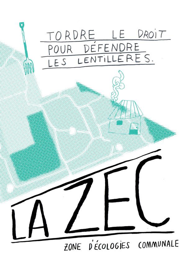 ZEC: tordre le droit pour défendre les Lentillères