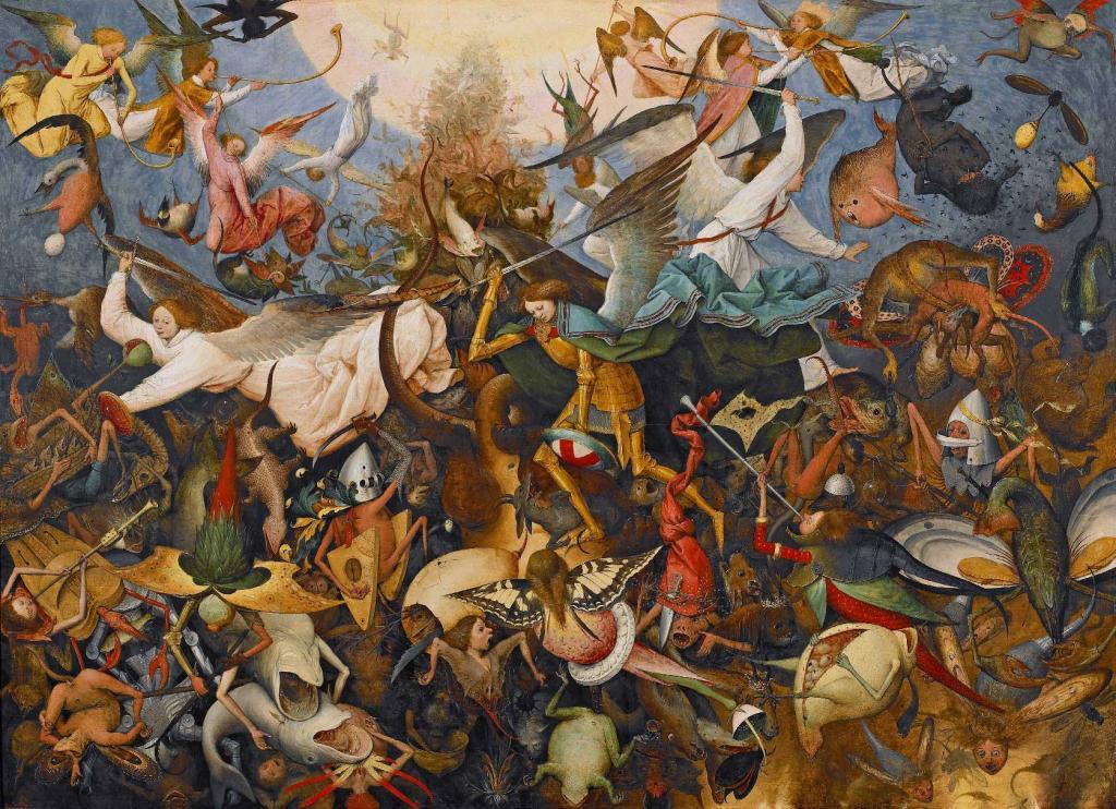 Pieter Bruegel l'Ancien, La Chute des anges rebelles (1562)